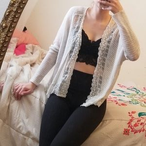 Sweaters - Light cream sweater
